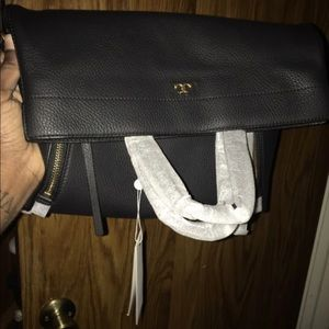 Tory Burch half moon cross body bag